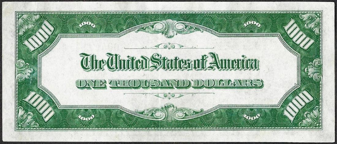 1934A $1,000 Federal Reserve Note New York - 2
