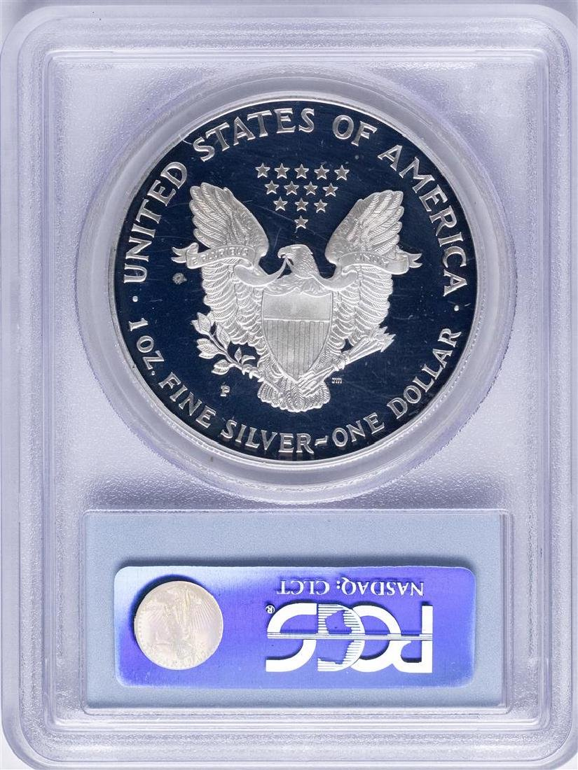 1996-P $1 American Silver Eagle Proof Coin PCGS - 2