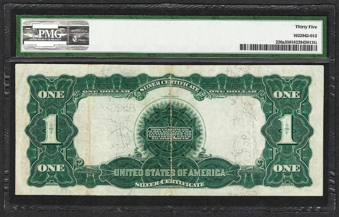 1899 $1 Black Eagle Silver Certificate Note Fr.226a PMG - 2