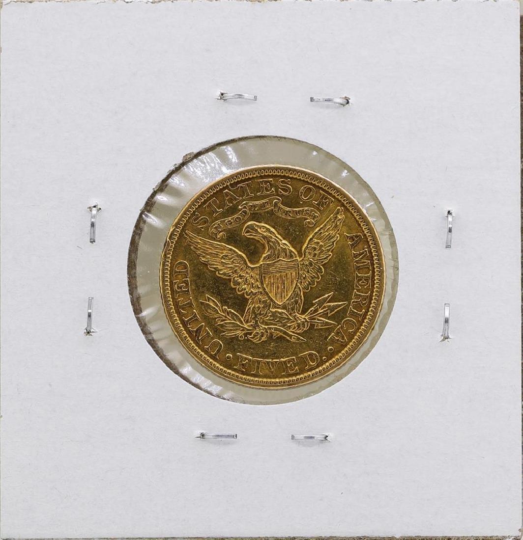 1905 $5 Liberty Head Half Eagle Gold Coin - 2