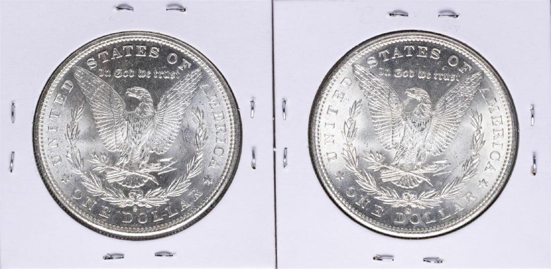 Lot of 1881-S & 1882-S $1 Morgan Silver Dollar Coins - 2