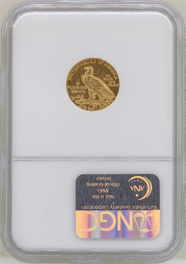 1927 $2 1/2 Indian Head Quarter Eagle Gold Coin NGC - 2