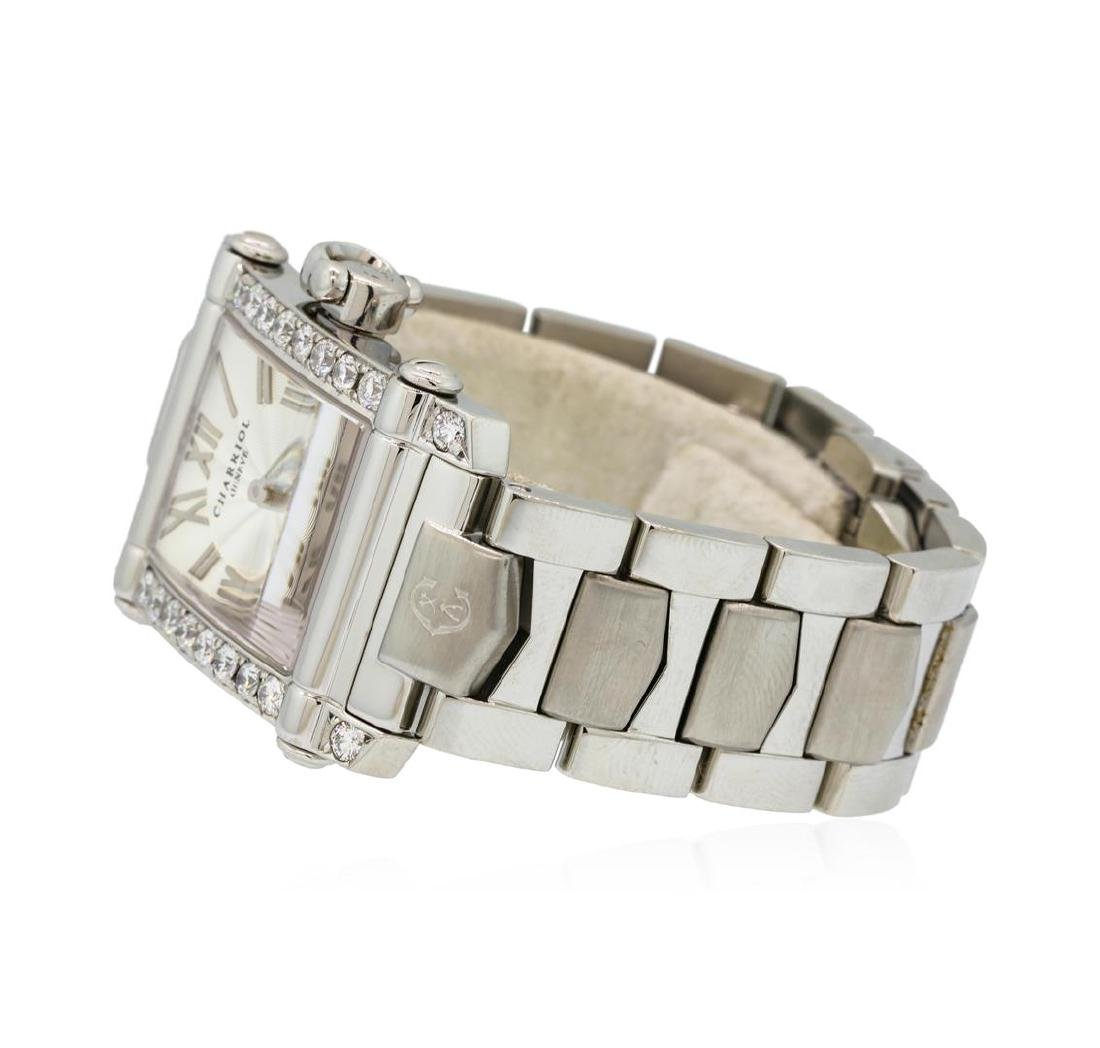 Charriol Columbus Stainless Steel Watch with 0.80 ctw - 2