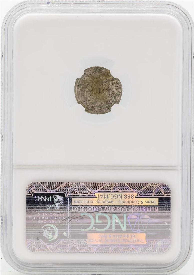 1750 Germany Bradenburg-Bayreuth 1 Kreutzer Coin NGC - 2