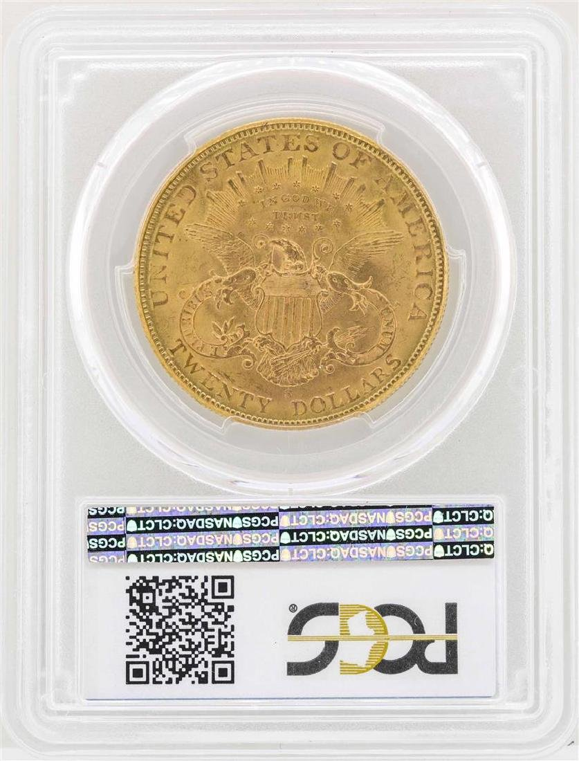 1904-S $20 Liberty Head Double Eagle Gold Coin PCGS - 2