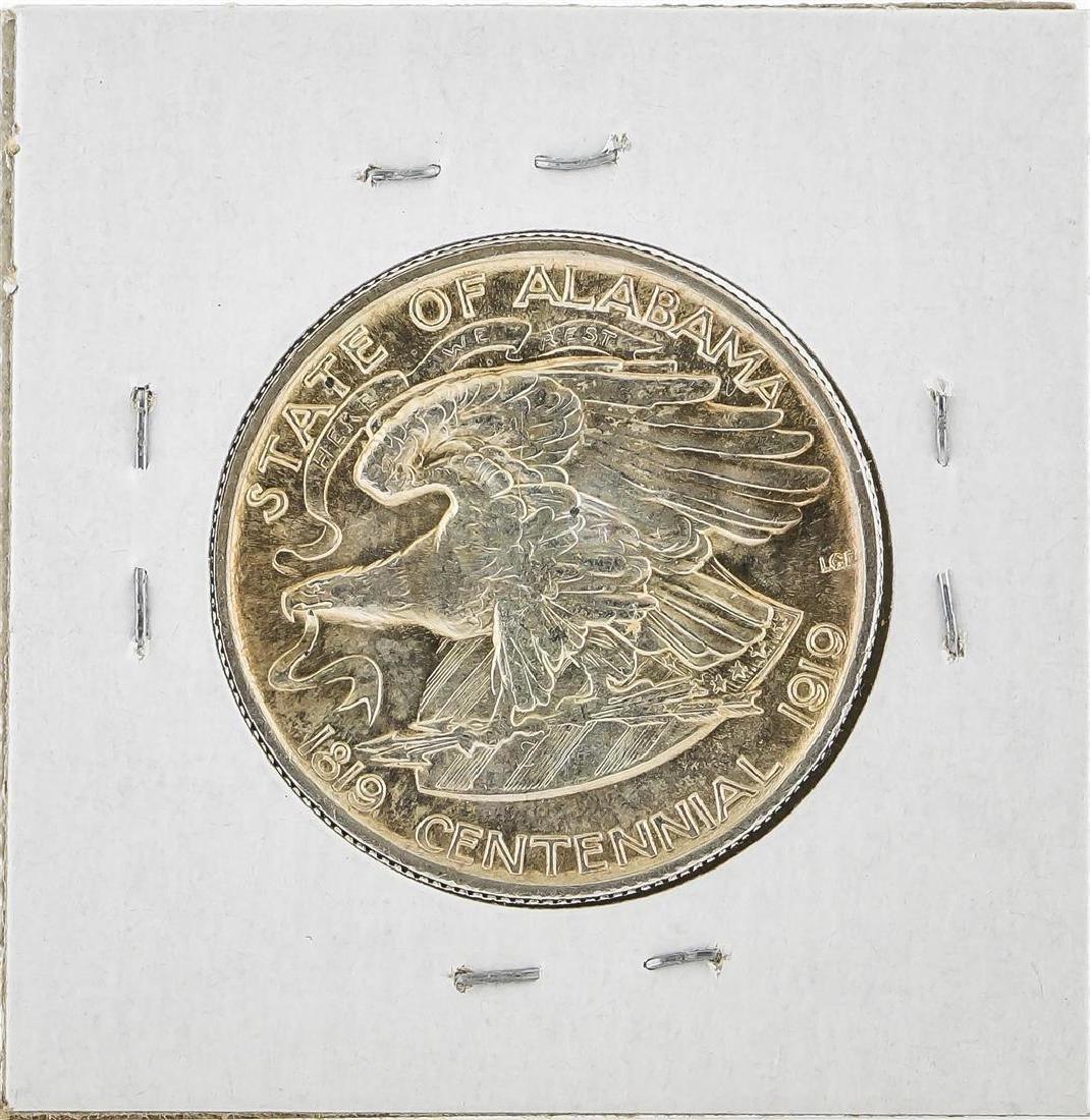 1921 Alabama 2x2 Centennial Commemorative Half Dollar - 2