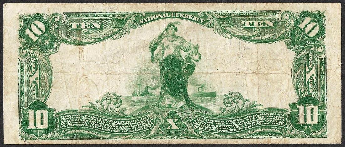 1902PB $10 Republic National Bank of Dallas, Texas CH# - 2