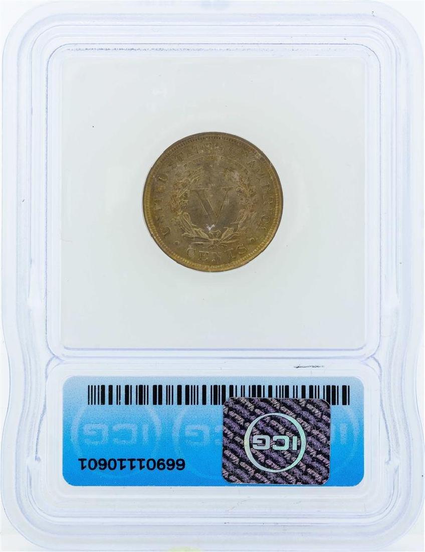 1903 Liberty Head Nickel Coin ICG MS64 - 2