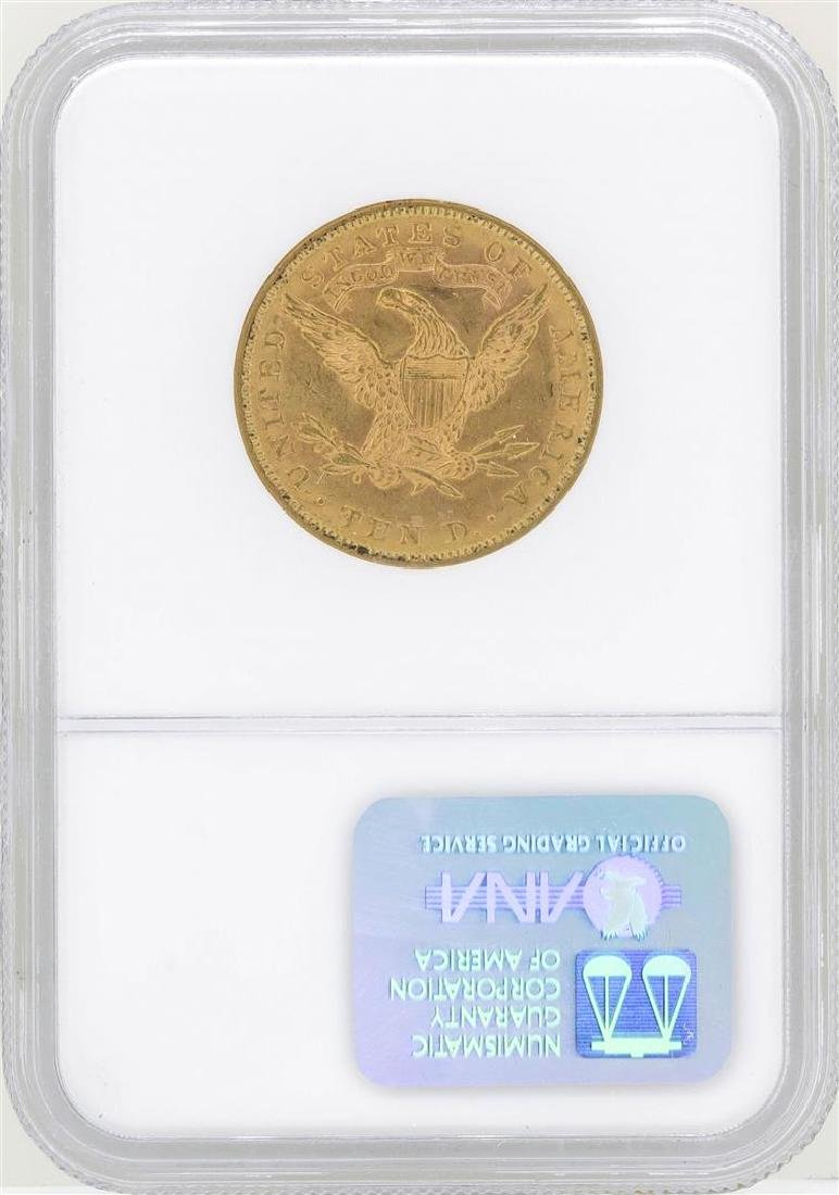 1881 $10 Liberty Head Eagle Gold Coin NGC MS62 - 2