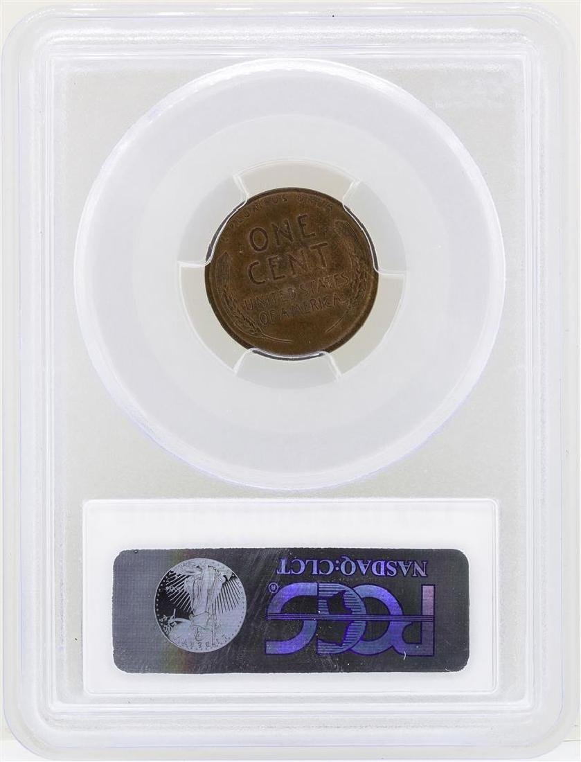 1916-D Lincoln Wheat Penny Coin PCGS MS64BN - 2