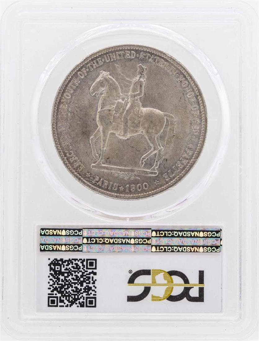 1900 $1 Lafayette Silver Dollar Coin PCGS MS62 - 2