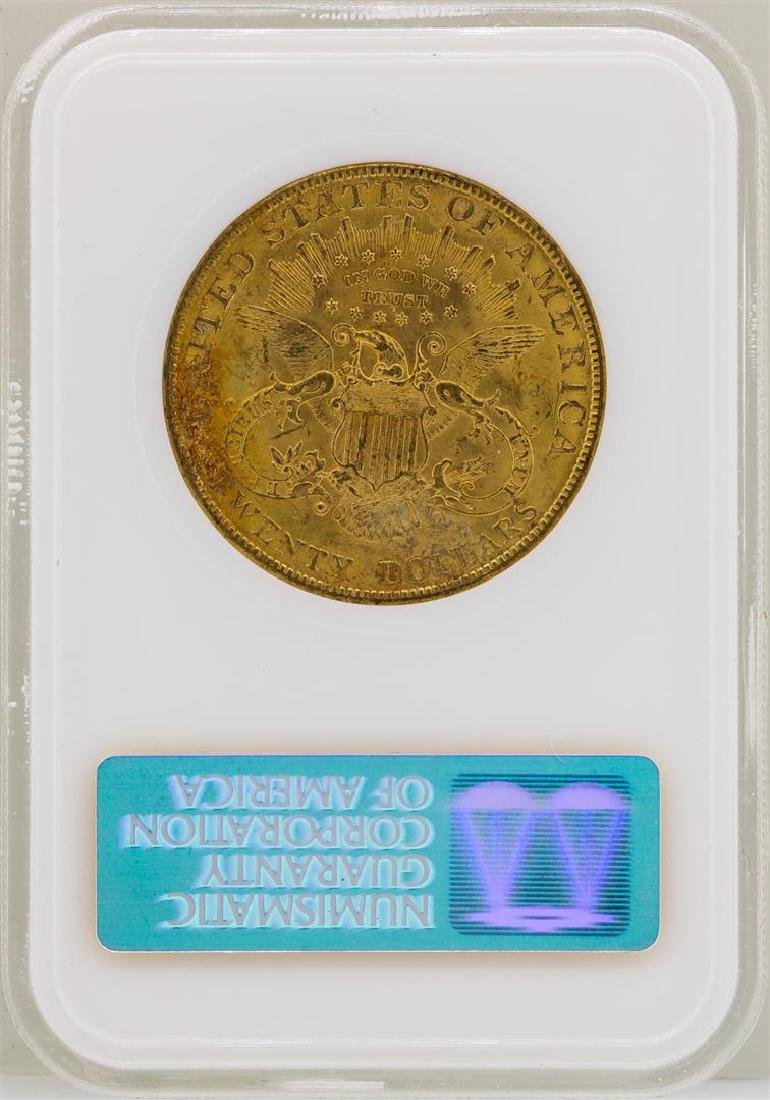 1904 $20 Liberty Head Double Eagle Gold Coin NGC MS61 - 2