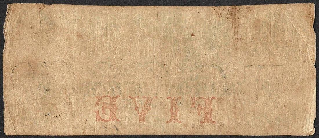 1855 $5 Bank of Chester, SC Obsolete Note - 2