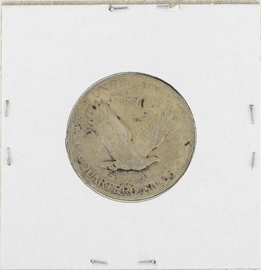 1917 TYPE 2 Standing Liberty Quarter Coin - 2
