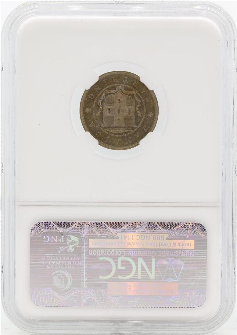 1884 Jamaica 1/4 Penny Coin NGC MS64 - 2