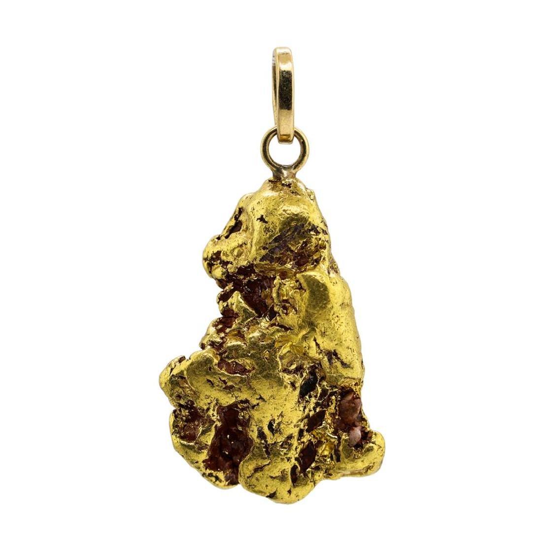 22.4 Gram Gold Nugget Pendant - 2