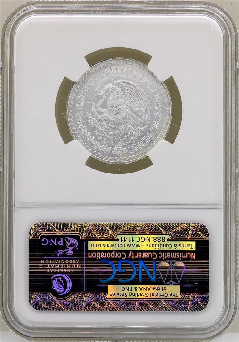 2013MO Mexico 1/4 Onza Libertad Silver Coin NGC MS70 - 2