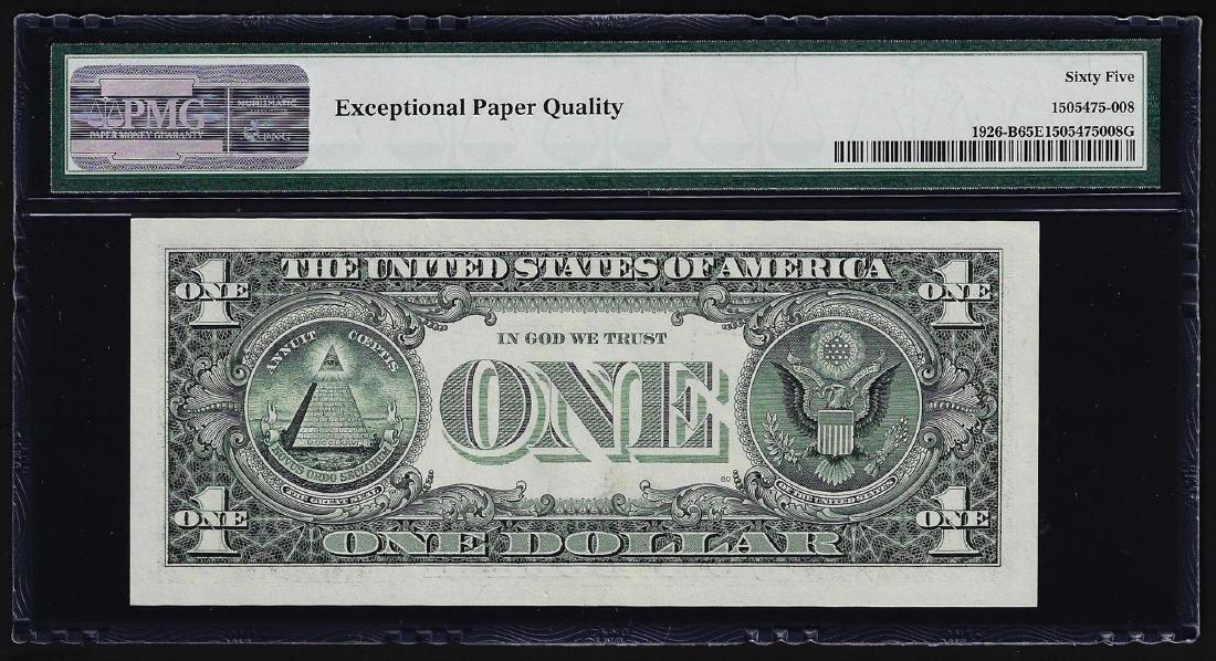 2001 $1 Federal Reserve Note Mismatched Serial Number - 2