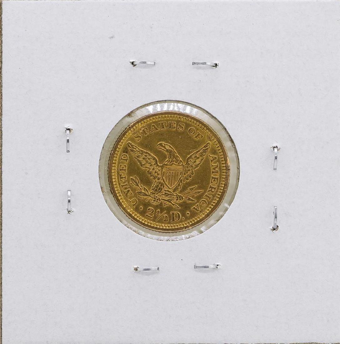 1878 $2 1/2 Liberty Head Quarter Eagle Gold Coin - 2