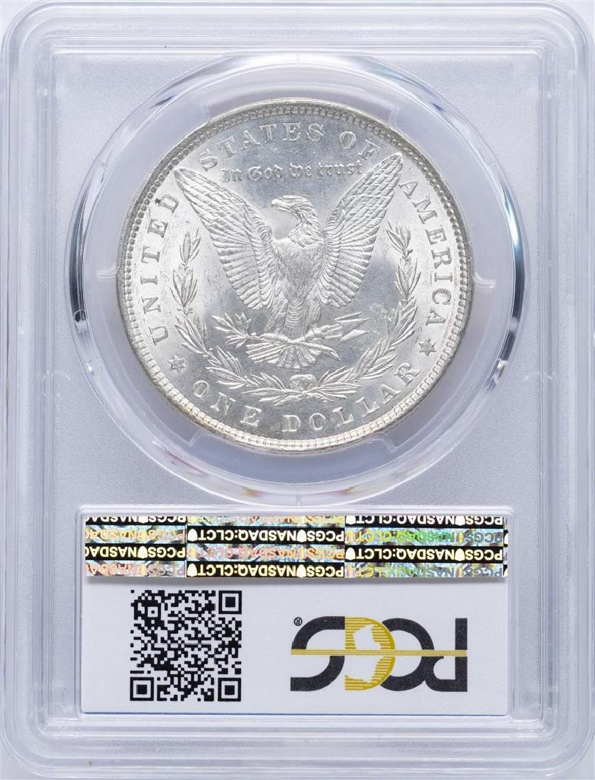 1881 $1 Morgan Silver Dollar Coin PCGS MS62 - 2