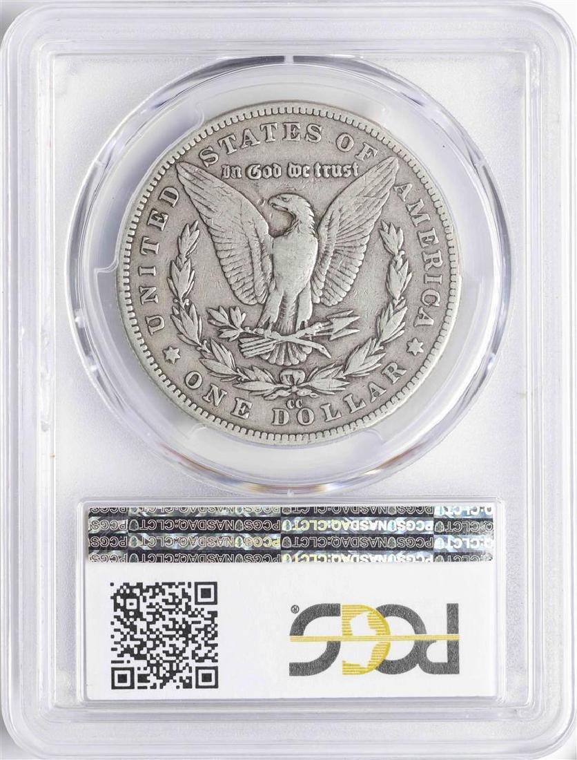 1889-CC $1 Morgan Silver Dollar Coin PCGS VF20 - 2