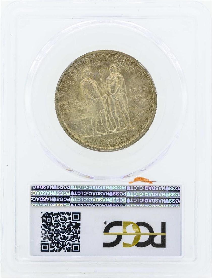 1937 Boone Commemorative Half Dollar Coin PCGS MS66 - 2
