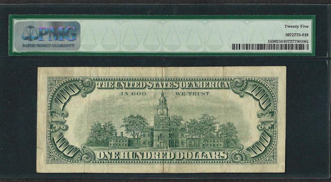1966 $100 Legal Tender Note Fr.1550 PMG Very Fine 25 - 2