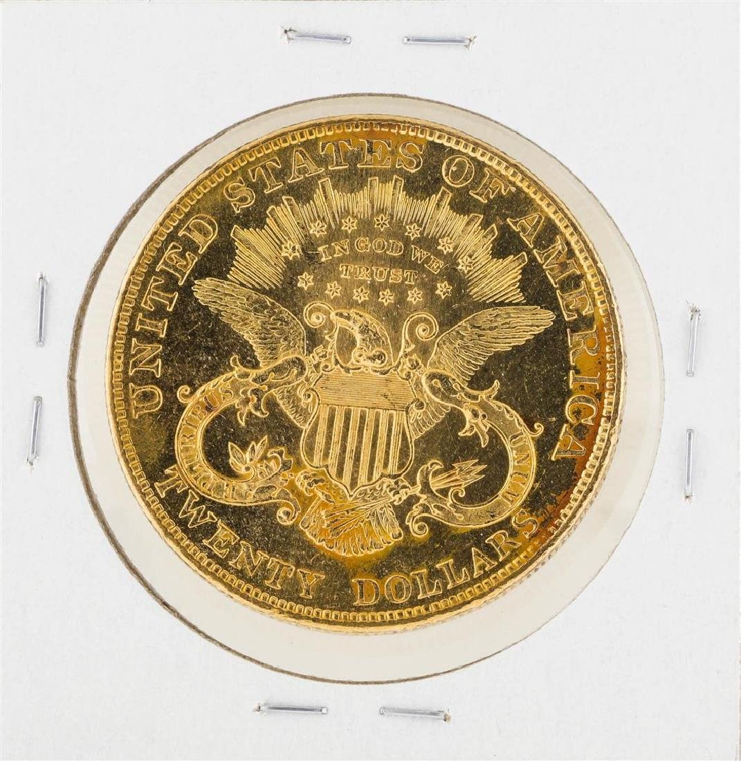 1904 $20 Liberty Head Double Eagle Gold Coin - 2