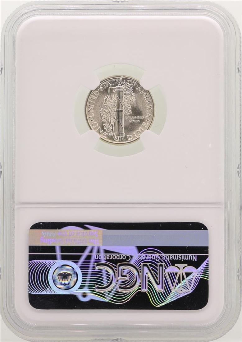 1945 Mercury Dime Coin NGC MS66 - 2