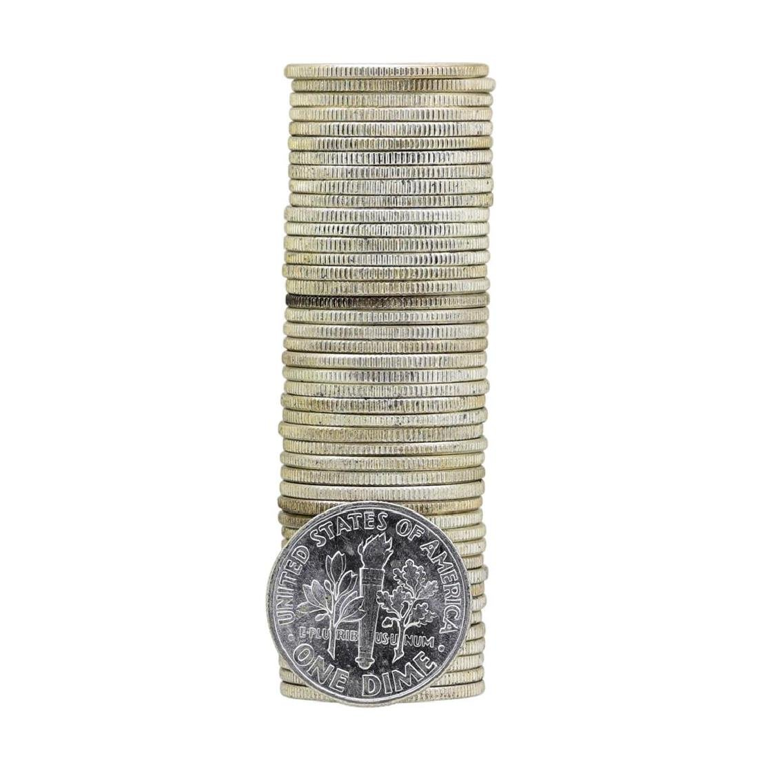 Roll of (50) 1960 Brilliant Uncirculated Roosevelt - 2