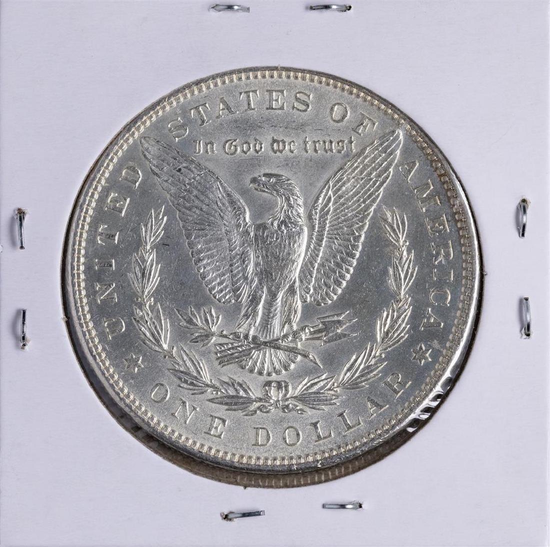 1885 $1 Morgan Silver Dollar Coin - 2