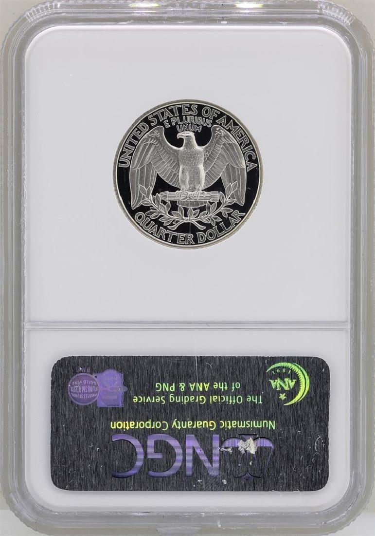 1998-S Washington Silver Proof Quarter Coin NGC PF70 - 2