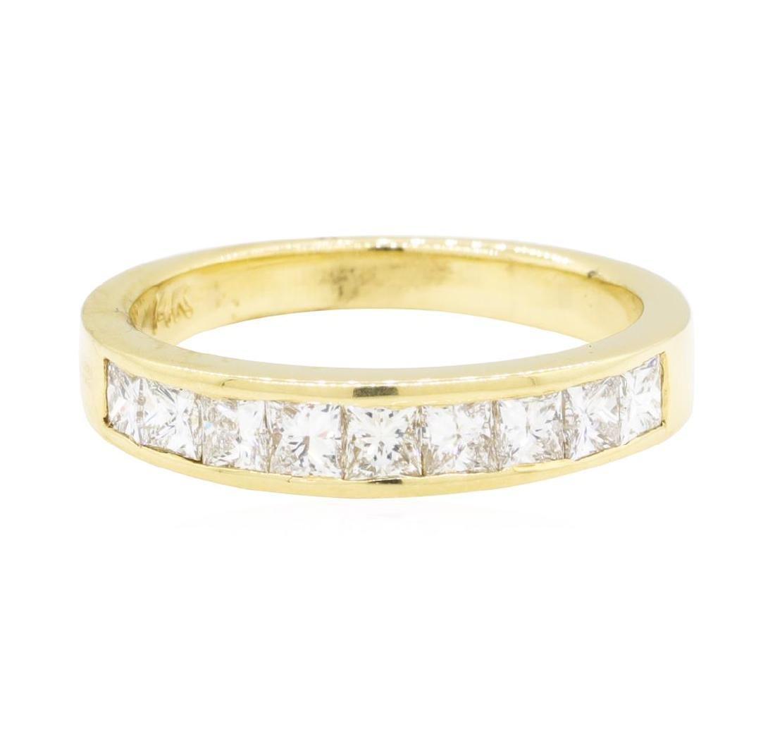 14KT Yellow Gold 0.60 ctw Diamond Ring - 2