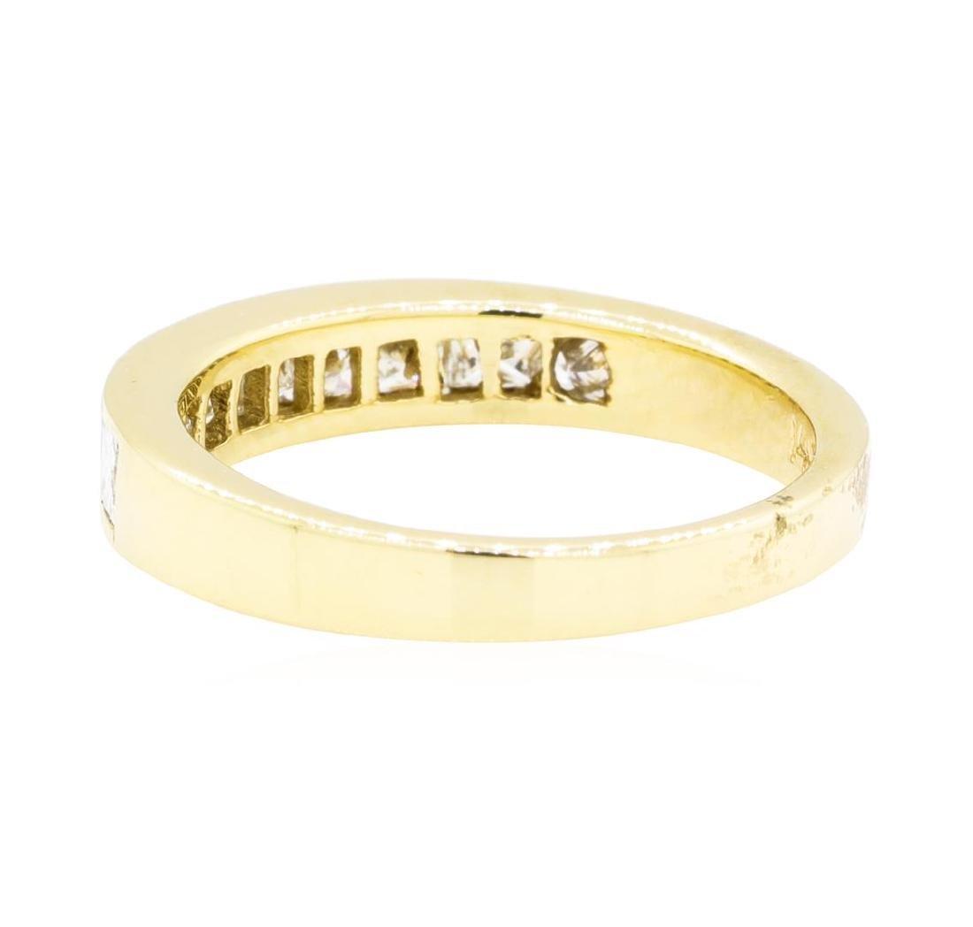 14KT Yellow Gold 0.60 ctw Diamond Ring - 3