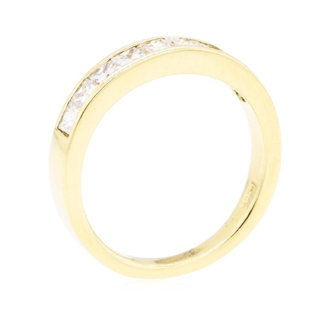14KT Yellow Gold 0.60 ctw Diamond Ring - 4