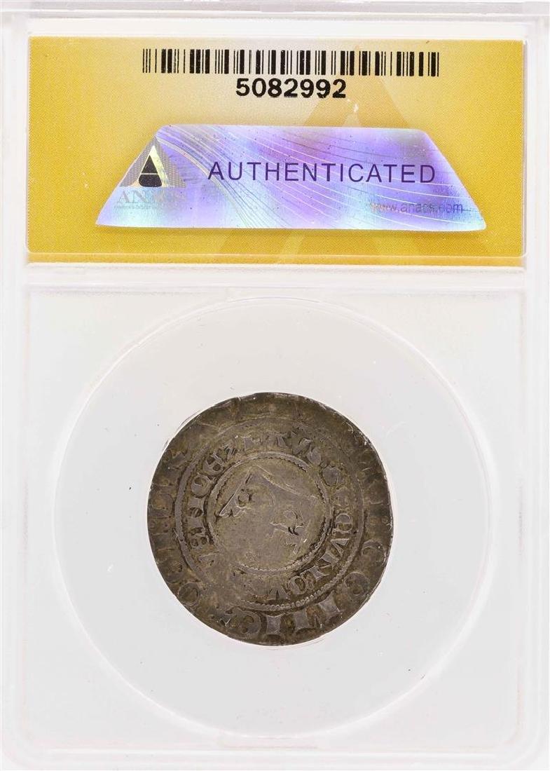 1300 Bohemia Wenzeslaus II AR Prager Groschen ANACS - 2