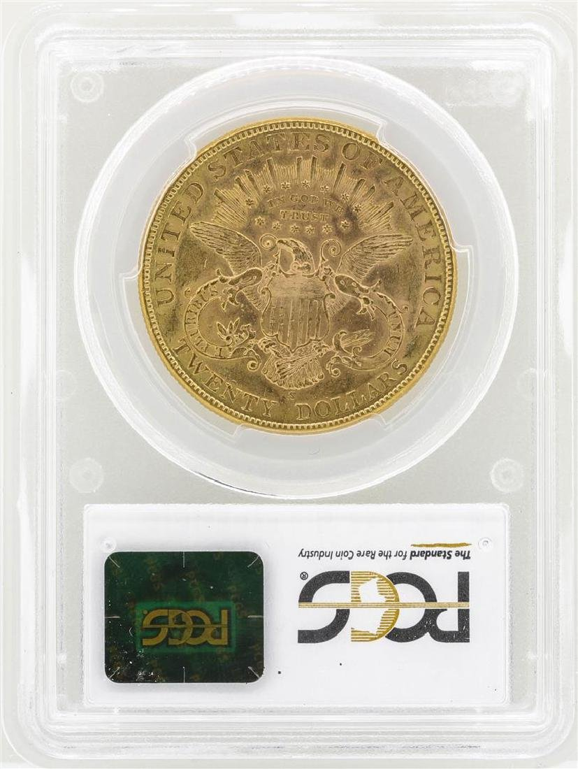 1903-S $20 Liberty Head Double Eagle Gold Coin PCGS - 2