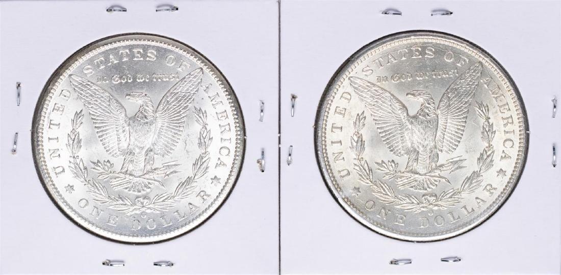 Lot of 1898-O to 1899-O $1 Morgan Silver Dollar Coins - 2