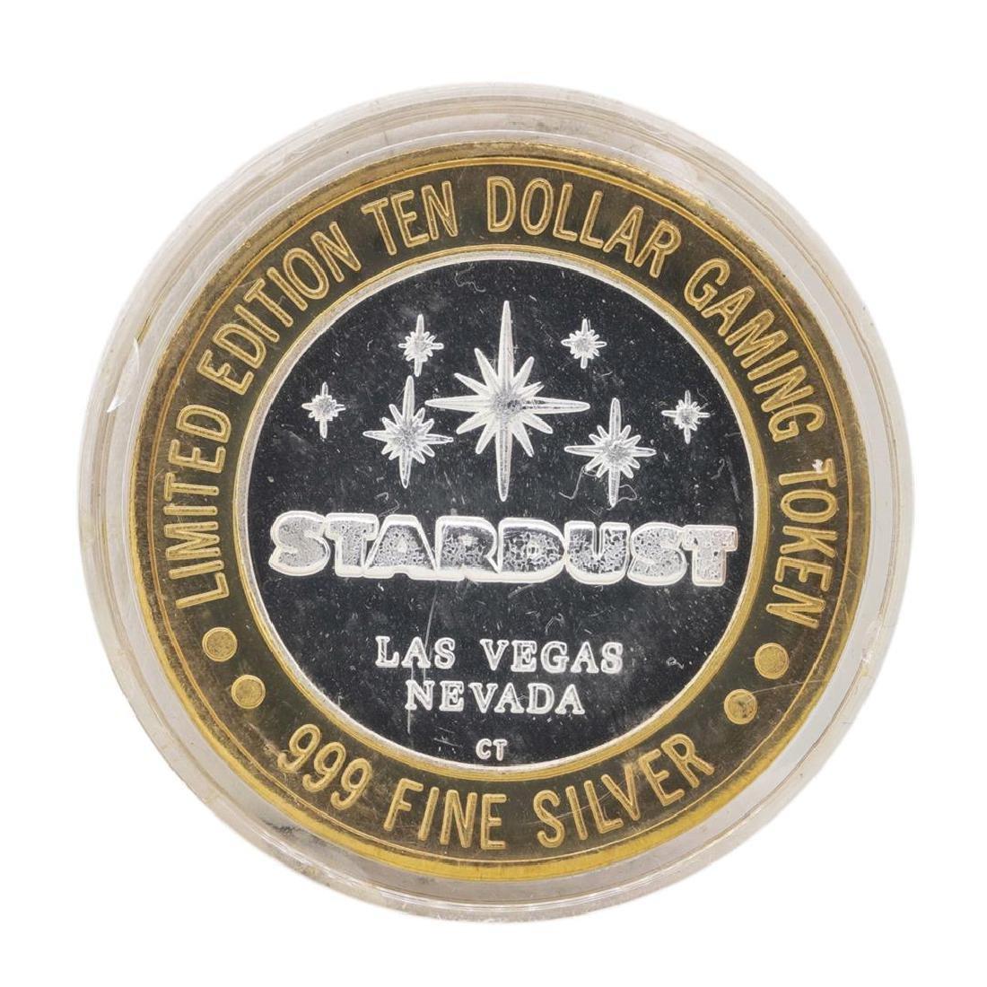.999 Silver Stardust Resort Las Vegas, Nevada $10 - 2
