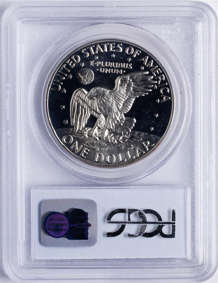 1973-S $1 Ike Eisenhower Proof Silver Dollar Coin PCGS - 2