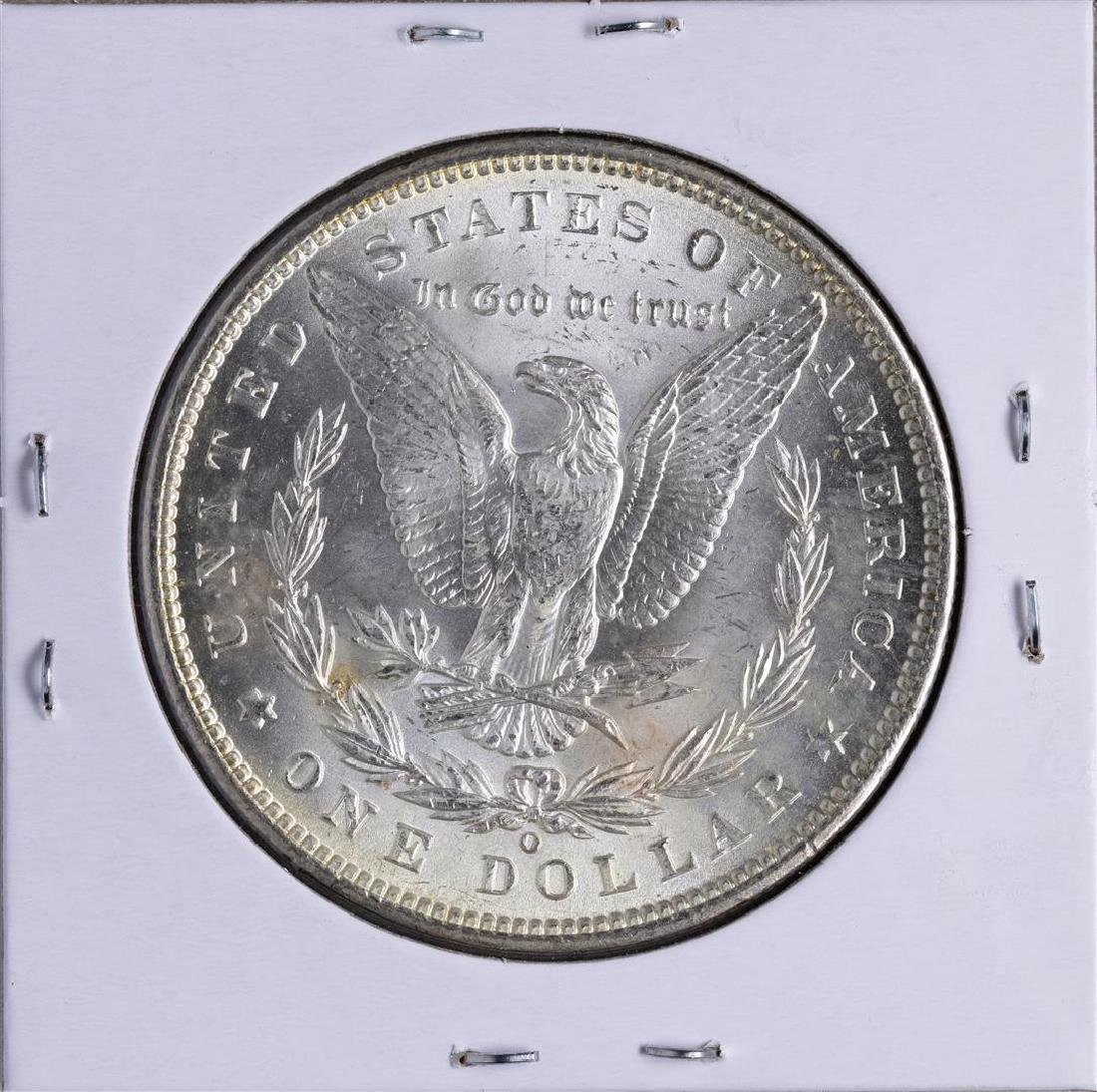 1899-O $1 Morgan Silver Dollar Coin - 2