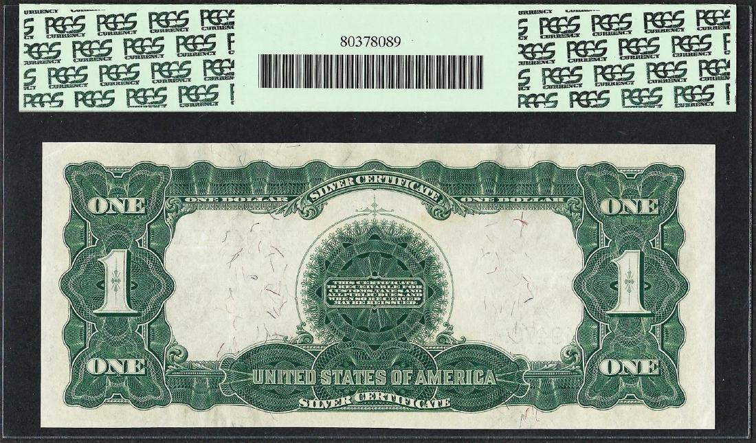 1899 $1 Black Eagle Silver Certificate Note Fr.228 PCGS - 2