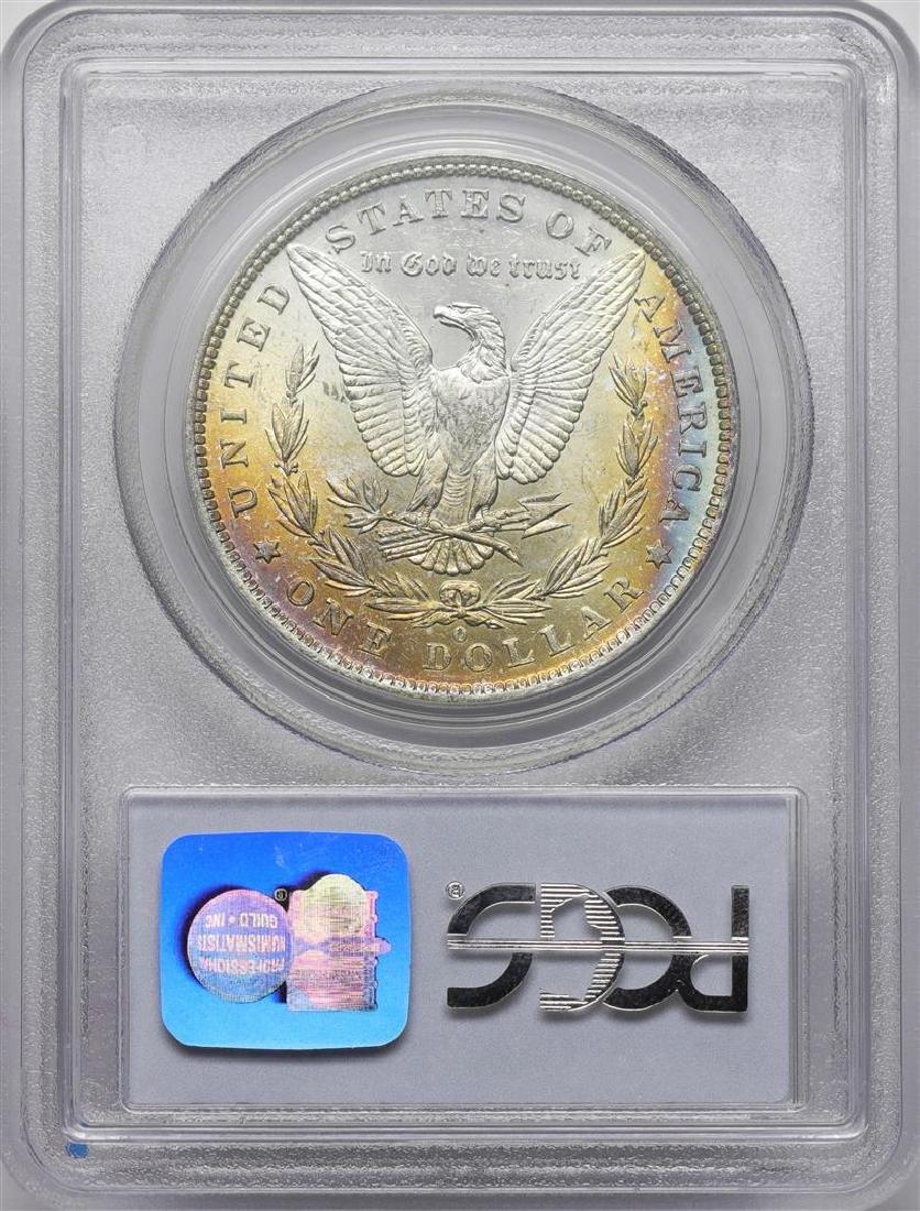 1884-O $1 Morgan Silver Dollar Coin PCGS MS63 Amazing - 2