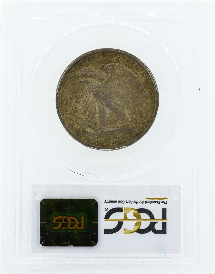 1916-D Walking Liberty Half Dollar Coin PCGS MS63 - 2