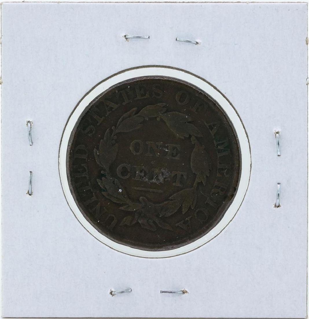 1828 Matron Head Large Cent Coin - 2