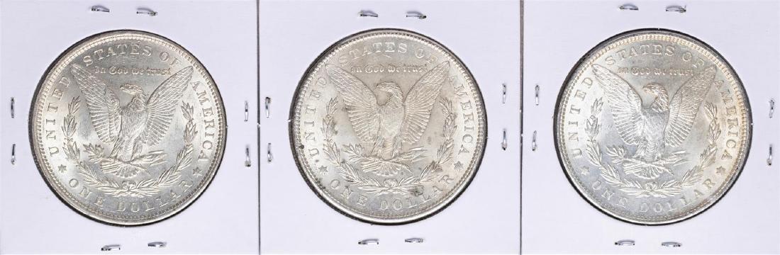 Lot of 1896-1898 $1 Morgan Silver Dollar Coins - 2