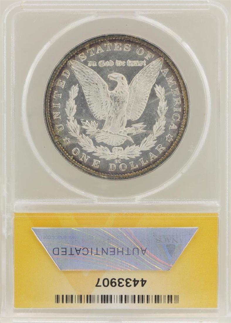 1883-CC $1 Morgan Silver Dollar Coin ANACS MS62DMPL - 2
