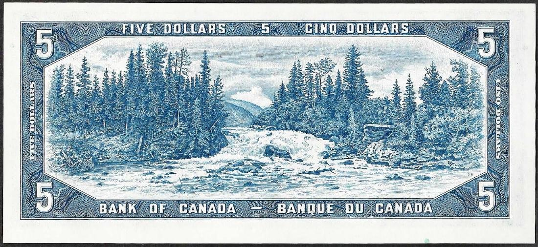 1954 $5 Bank of Canada Note - 2