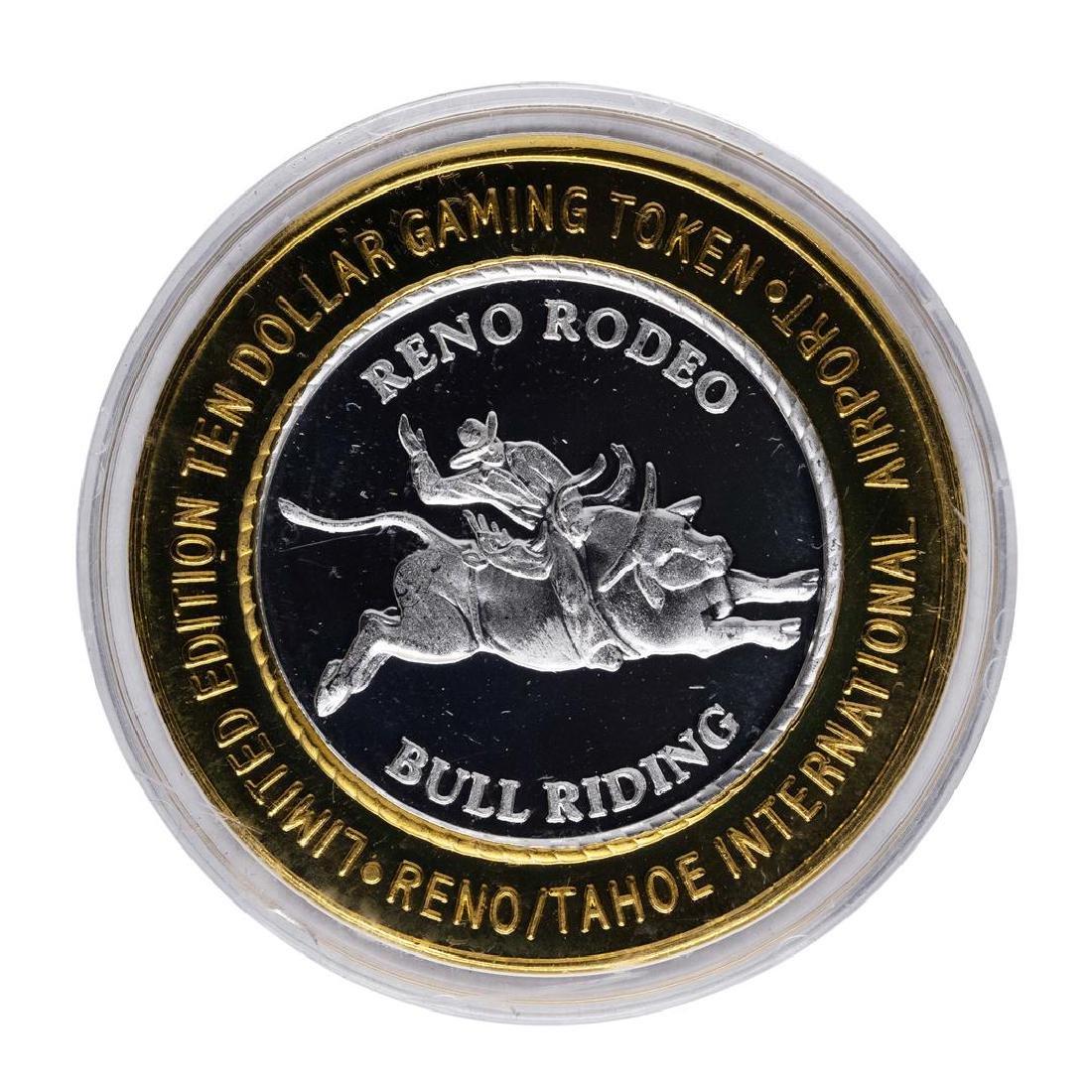 .999 Silver Fly RNO Reno Tahoe $10 Casino Limited - 2