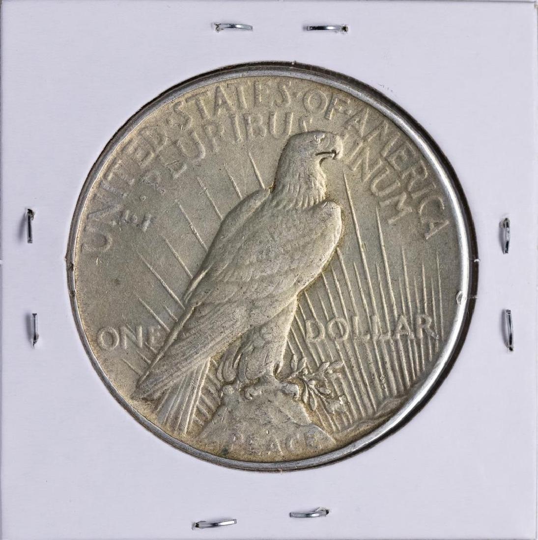 1935 $1 Peace Silver Dollar Coin - 2